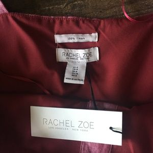 Rachel Zoe Dresses - Rachel Zoe Red Button Down Linen Maxi Dress Size 4